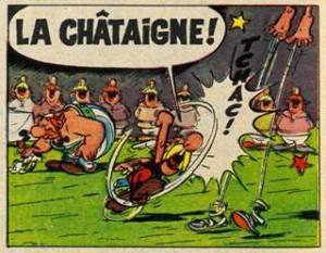 """Dans """"Le tour de Gaule d´Astérix"""", Hergé"""